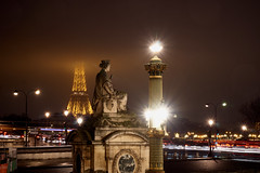 Paris: What remains... (cicero2704) Tags: paris france eiffelturm the eiffel tower night long exposure sony alpha 6000 sel18105g