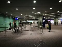 Entrance to Transit Security (A. Wee) Tags: hongkong 香港 中国 china hkg airport 机场