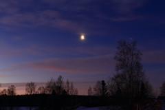 The Sun rise_2017_01_20_0017 (FarmerJohnn) Tags: sun rise sunrise kuu moon jupiter auringonnousu taivas sky morning aamutaivas taivaanranta pilvet clouds colors colorfull värikäs taivi winter january tammikuu suomi finland laukaa valkola anttospohja canon7d canonef163528liiusm canon 7d juhanianttonen