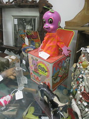 Alien - The Original Chestburster - Its Blippy 0484 (Brechtbug) Tags: blippy purple 1960s alien jack music box kozmic kiddle version in space ship martian plastic figure toy toys flying saucer rocket usa 2017 nyc cartoon characters animation yellow figures family television tv comedy funny new york city fly saucers cosmic kiddeles kiddels kiddles originally from 1960 60s 1968 kosmic chestburster chest burster aliens