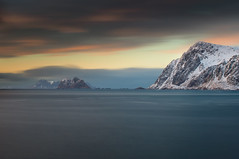 A dawn (Etardo64) Tags: lofoten longexposure longexp sea mountain islands landscape