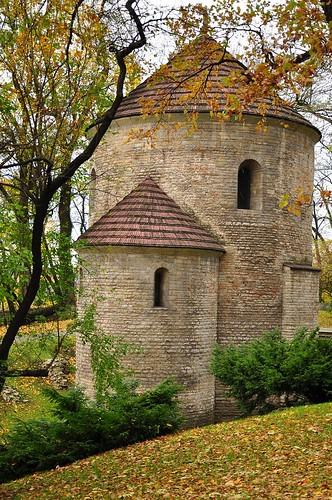 Romanesque round church in Cieszyn