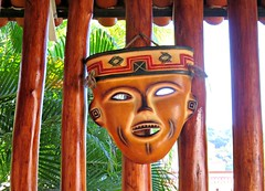 Mask Again (knightbefore_99) Tags: mask art mexican aztec mexico west coast native rincon guayabitos cool awesome decameron holiday 2017 fantastic best