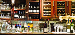 Le Procope-1 (albyn.davis) Tags: paris france europe cafe bar classware bottles stilllife panorama display