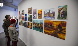 Silke Tudor and Erica Ewing Admire Artwork Made by a Guantánamo Detainee
