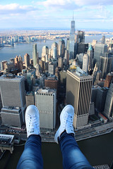 From the air (federpanella98) Tags: ny nyc flyony helicopter shoes adidas new york nueva