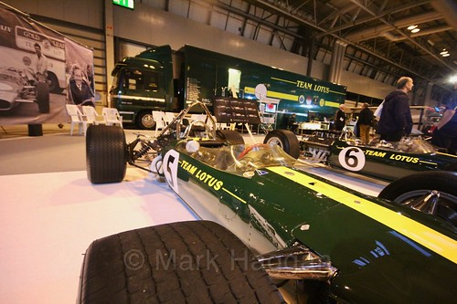 Team Lotus at the Autosport International Show 2017