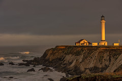 """The Lighthouse in the movie """"Need for Speed"""" (Ted Holm) Tags: lighthouse ocean sunrise"""
