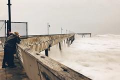 Capturing storm waves
