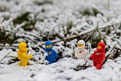 Exploration (#38) - Snow (Ballou34) Tags: 2016 7dmark2 7dmarkii 7d2 7dii afol ballou34 canon canon7dmarkii canon7dii eos eos7dmarkii eos7d2 eos7dii flickr lego legographer legography minifigures photography stuckinplastic toy toyphotography toys dugny îledefrance france fr 7d mark 2 ii eos7d stuck plastic 2017 exploration space blue yellow red white snow winter grass