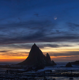 Martin's Moonset