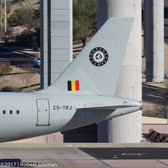 Belgian Air Force Airbus A321 CS-TRJ-3753 (rob-the-org) Tags: kphx phx skyharborinternational phoenixaz belgianairforce airbus a321 cstrj taxiing f80 300mm 1400sec iso100 cropped noflash topmarch2017