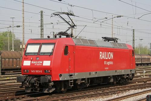 DB Schenker 145 003-0 Gemünden am Main