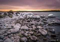 Icy Morning in sweden (davidshred) Tags: d7200 haida nd 1000 nynäshamn landscape sweden sverige vatten ice icy water epic