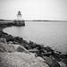 B&W of Bug Lighthouse