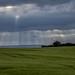Sunrays breaking through clouds; Durchbrechende Sonnenstrahlen (4:3)