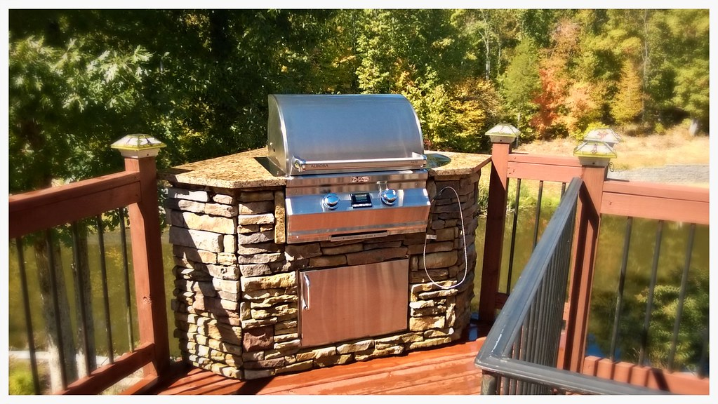Custom Fire Magic Outdoor Kitchen. Cleveland, Tn.