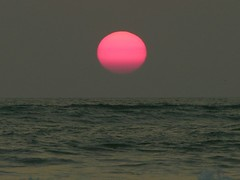 Bali.2004-10-10.0054 (DigitalTribes) Tags: ocean sunset sky bali orange sun beach 2004 water indonesia island id indonesian dt digitaltribes markoneil
