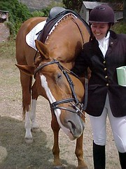 SHORA - dressage - Wednesday 1 March 2006 - by genewolf