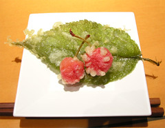 Cherry Tempura (yewco) Tags: food japan cherry cherries tempura yamagata delicacy