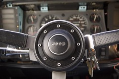 Jeep ((NEW ACCOUNT: peterwmdavis)) Tags: cars jeep things steeringwheel