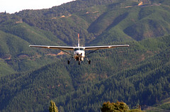 Cessna Caravan, Koromiko, Marlborough, New Zealand, 11 March 2006 (PhillipC) Tags: newzealand airplane airport 2006 aeroplane marlborough cessna koromiko