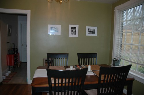 Newly Painted Dining Room