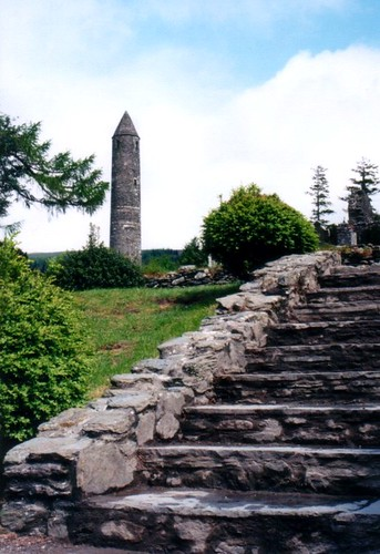 Glendaough round tower