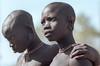 Surma: friendship (foto_morgana) Tags: portraits tribes ethiopia surma