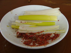 Onions and salty spices (Helga's Lobster Stew) Tags: china chinesefood spice chinese salt spices onion