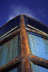 Rust Never Sleeps (Rod Monkey) Tags: sky boat rust paint interestingness489 i500 scoreme41 rodirvine