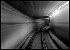 warp speed subway - by Shreyans Bhansali