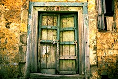 I dream about this door. (lecercle) Tags: door old india peeling pune chipping poona topphotoblog bluelist