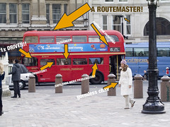 routemasterlive (swifty_mcvey) Tags: red people bus london secret neil routemaster exposed robinson chav captions londonbus exposee hardkohr neilrobinson