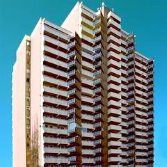 kln chorweiler (ekimas) Tags: windows sky balcony balkon cologne kln colonia block balcon hochhaus ekimas chorweiler