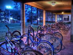 bikes corner (Kris Kros) Tags: california park ca usa public bike bicycle cali night corner photoshop photography evening la us losangeles high cool pix dynamic cs2 ps socal kris nightlife range hdr jjj kkg photomatix pscs2 kros kriskros bikescorner kk2k kkgallery