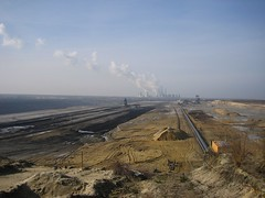 Tagebau bei Cottbus
