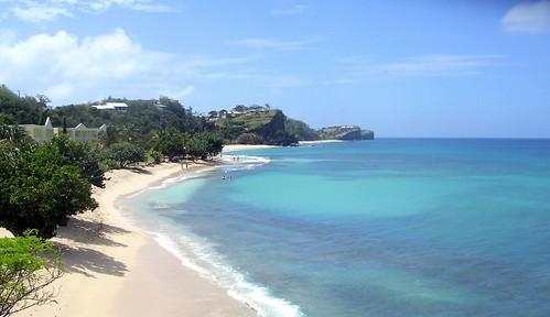 Grenada shoreline