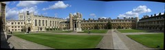 Trinity College Great Court Panorama (Buddhaah) Tags: uk cambridge autostitch geotagged unitedkingdom trinitycollege 2006 plazes april greatcourt cambridgeuniversity cambridgeuk geolong01253 geolat52208 universityofcambridge firstcourt