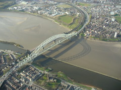 """Runcorn Bridge"" (isemantics) Tags: runcorn widnes runcornbridge ukair"