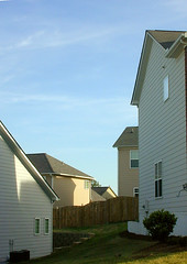 walls and (few) windows (BoringPostcards) Tags: atlanta house home georgia realestate developer suburb sprawl mcmansion subdivision