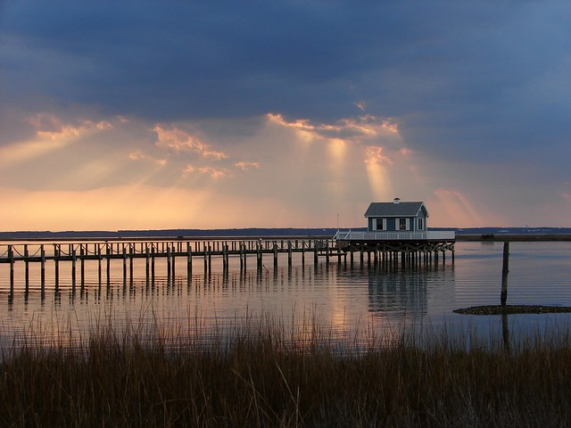 Sunset at Chincoteague