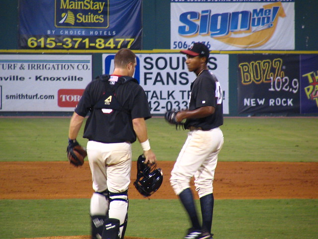 Keith McDonald, Catcher, and Kelvin Jimenez