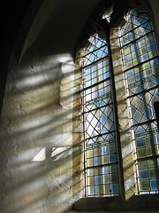 Childrey, Oxfordshire (Martin Beek) Tags: light window mystery architecture contrast churches historic christian oxfordshire lightinthedarkness lightandshade valeofwhitehorse thelightcamethroughthewindow childrey onethousandyears imagesoffaith martinbeek 1galleries
