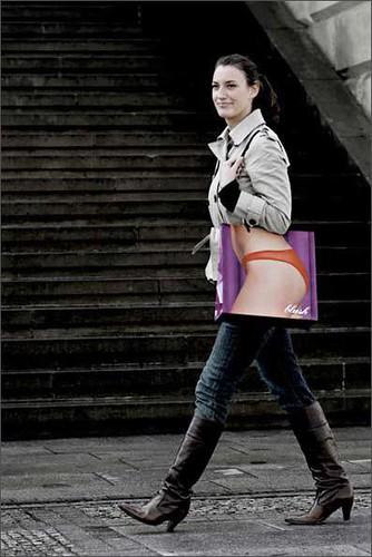 Blush Advertising Bag