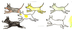 Dogs (kxp130) Tags: dogs drawing ugly innk