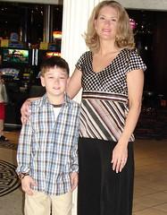 Mom and Josh (kasindy) Tags: cruise josh sindy
