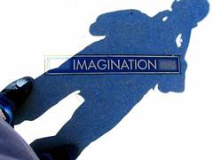 自分自身の影にみるイマジネーション