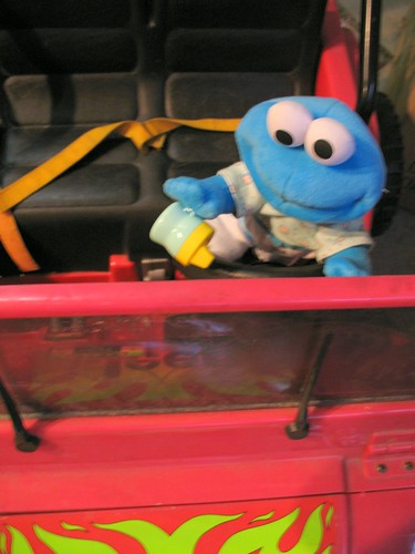 Baby Cookie Monster, You Can Drive My Power Wheels Jeep (#13)