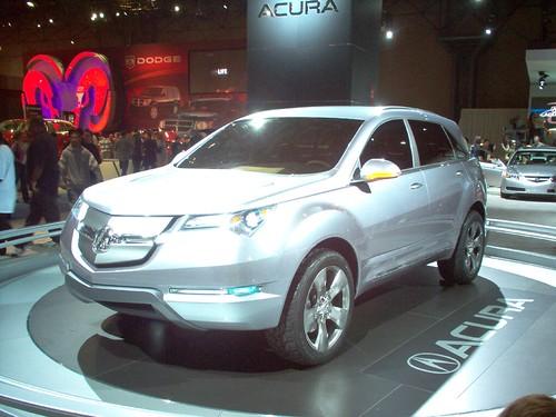 Acura MD-X Concept Pics